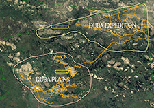 Duba-traversing-area-map