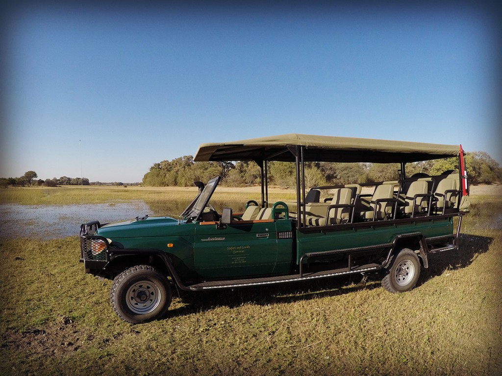 Sgs New Luxury Game Drive Vehicle