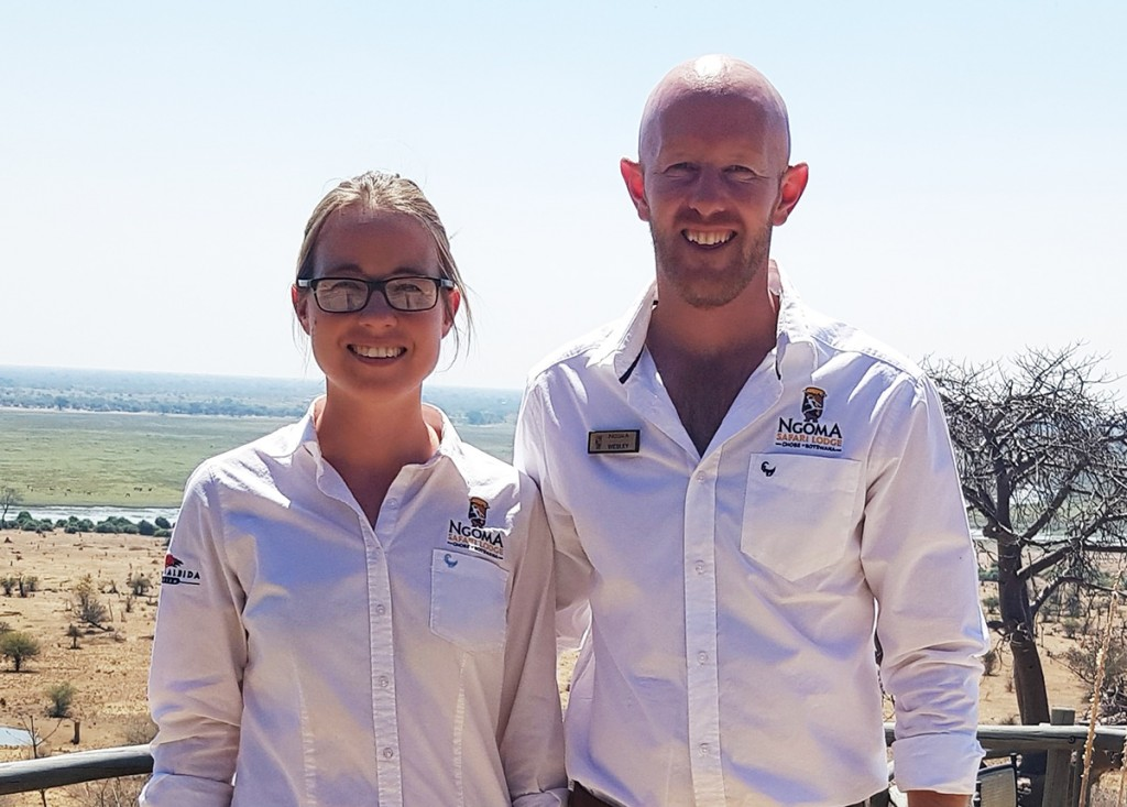 New-Ngoma-Safari-Lodge-management-team-Roxanne-and-Wesley-Cragg